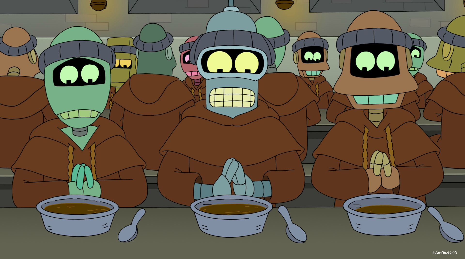 "<em>Futurama</em>: ""Free Will Hunting"" (Episode 7.9)"