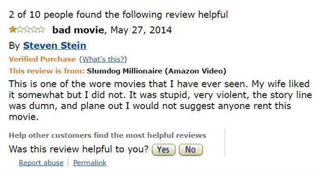 1-star-reviews-of-best-picture-winners slumdog-millionaire-amazon-review