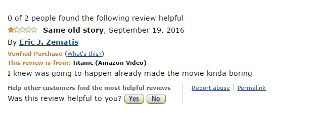 1-star-reviews-of-best-picture-winners titanic-amazon-review