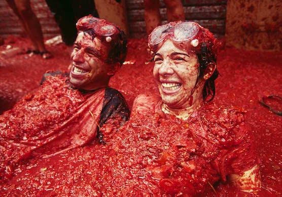 10-summer-festivals la-tomatina