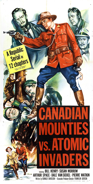 100-b-movie-posters canadian-mounties-vs-atomic-invaders-1954