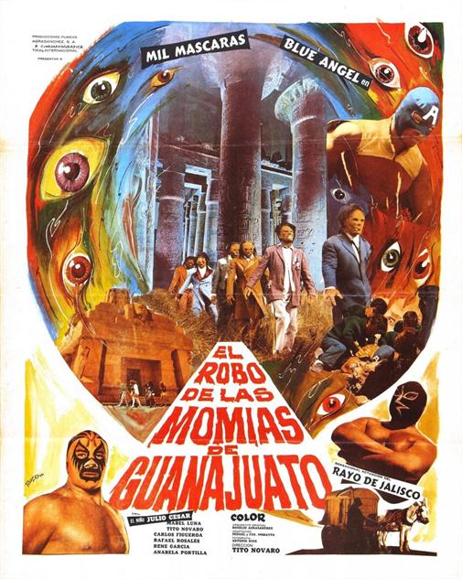 100-b-movie-posters el-robo-de-las-momias-de-guanajuato-1972