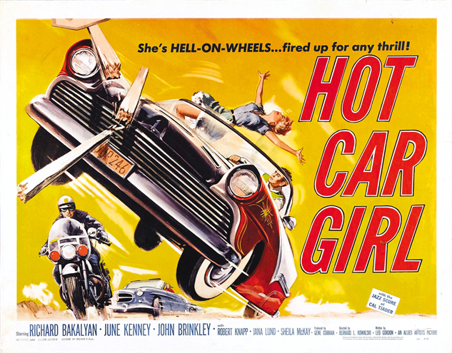100-b-movie-posters hot-car-girl-1958