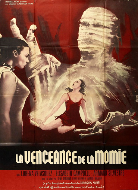 100-b-movie-posters la-vengeance-de-la-momie-1964