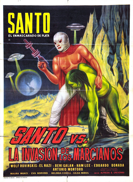 100-b-movie-posters santo-vs-la-invasion-de-los-marcianos
