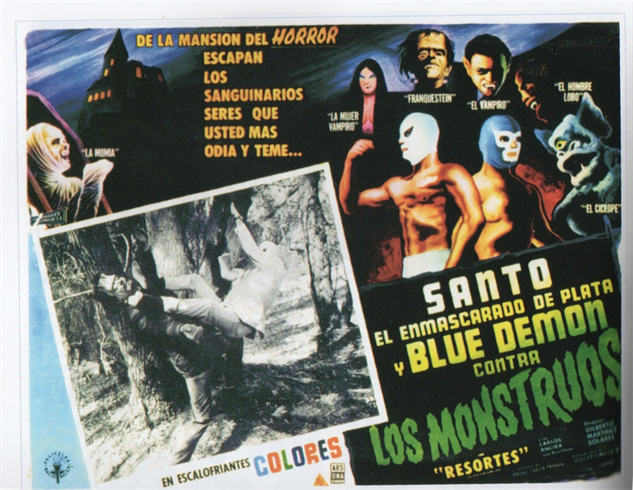 100-b-movie-posters santo-y-blue-demon-contra-los-monstruos-1954