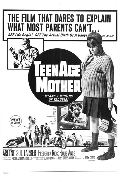 100-b-movie-posters teenage-mother-1967