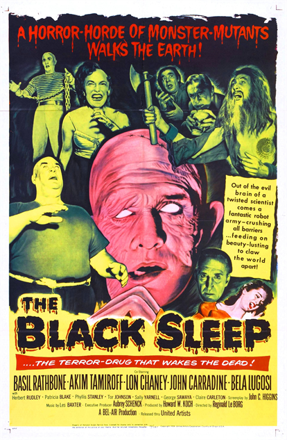 100-b-movie-posters the-black-sleep-1956