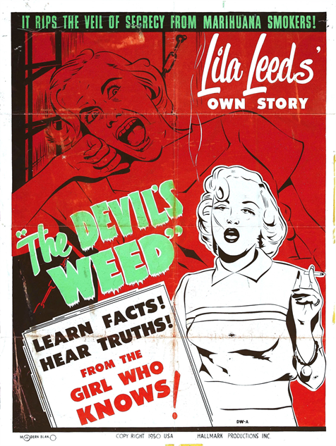 100-b-movie-posters the-devils-weed-1949