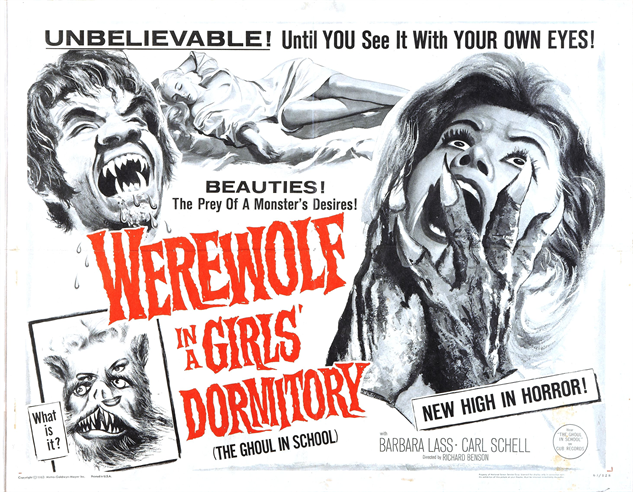 100-b-movie-posters werewolf-in-a-girls-dormitory-1961