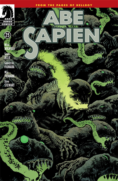 100besthellboycovers abe-sapien--25-cover-art-by-max-fiumara