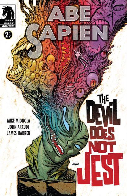 100besthellboycovers abe-sapien-the-devil-does-not-jest--2-cover-art-by-dave-john