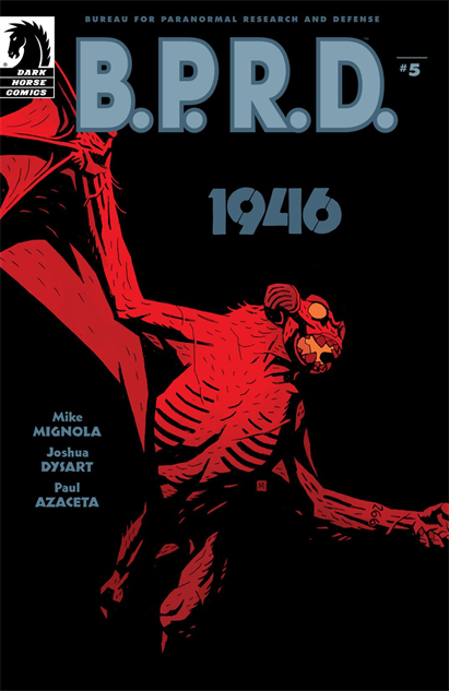 100besthellboycovers bprd-1946--5-cover-art-by-mike-mignola