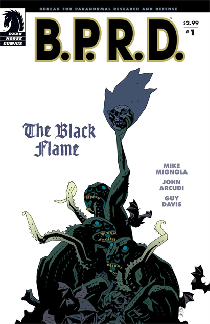 100besthellboycovers bprd-the-black-flame--1-cover-art-by-mike-mignola