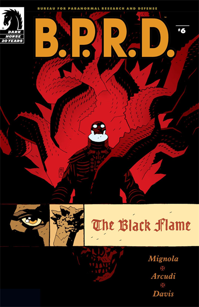 100besthellboycovers bprd-the-black-flame--6-cover-art-by-mike-mignola