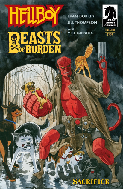 100besthellboycovers hellboy-beasts-of-burden-sacrifice-cover-art-by-jill-thompso
