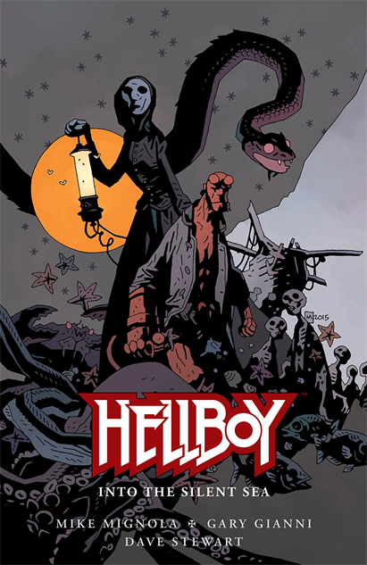 100besthellboycovers hellboy-into-the-silent-sea-cover-art-by-mike-mignola
