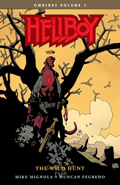 100besthellboycovers hellboy-omnibus-vol-3-the-wild-hunt-cover-art-by-mike-mignol