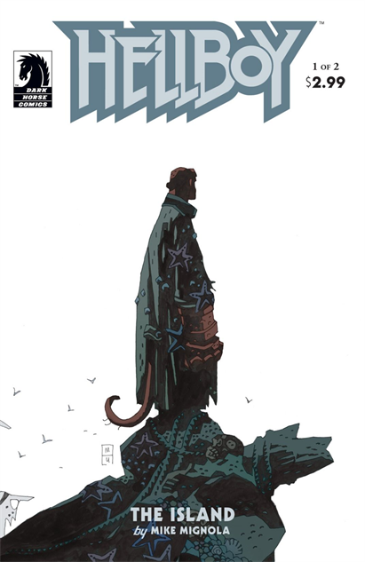 100besthellboycovers hellboy-the-island--1-cover-art-by-mike-mignola