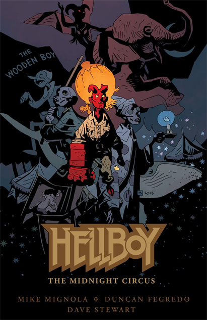 100besthellboycovers hellboy-the-midnight-circus-cover-art-by-mike-mignola