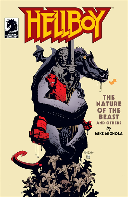 100besthellboycovers hellboy-the-nature-of-the-beast-and-others-cover-art-by-mike