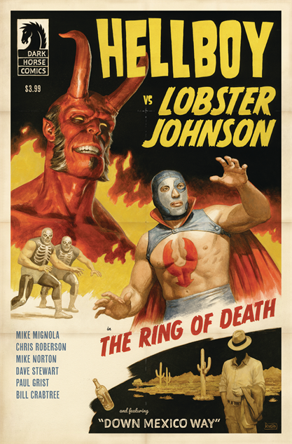 100besthellboycovers hellboy-vs-lobster-johnson-the-ring-of-death-cover-art-by-pa