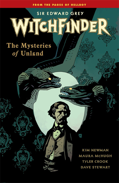 100besthellboycovers witchfinder-the-mysteries-of-unland-cover-art-by-mike-mignol