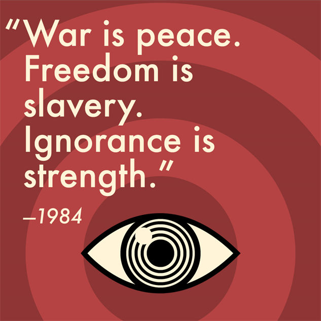 The Best Quotes From 1984 By George Orwell Books 1984 Paste