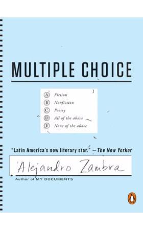 25-best-translated-2016 multiple-choice---zambra