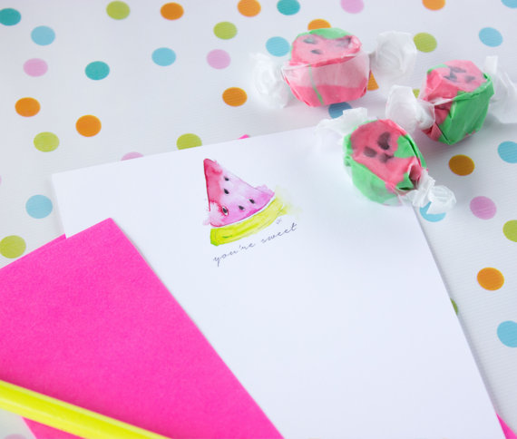 50-best-bespoke-stationery watermelon