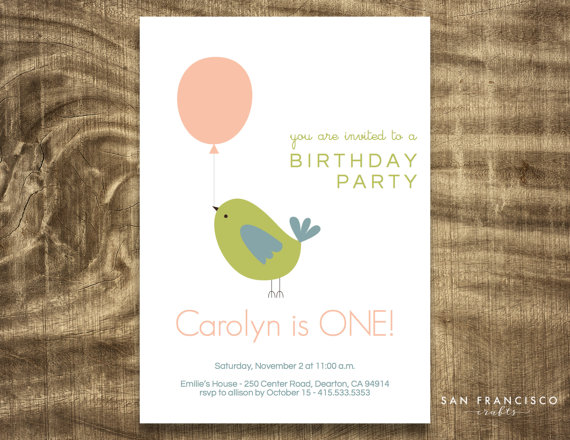 50 Best Even Invites Bird