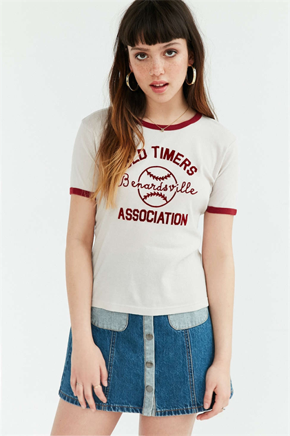 Sporty Ringer Tees for a '70s Summer - Paste