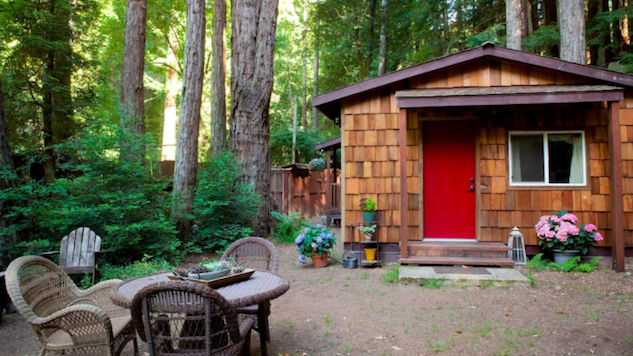 cabins glorified united a states big map california cabin for glamping camping fernwood rent f sur