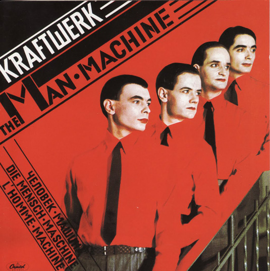 album-covers album24kraftwerkmanmachine