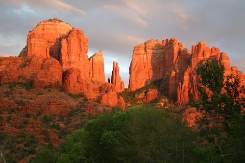 americana-southwest sed-chamber-cathedral-rock-sunset