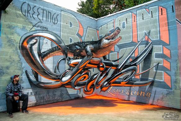 anamorphic-graffiti 2odeith-anamorphic