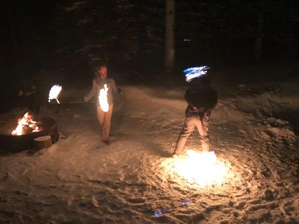 apres-rum fire-dancers