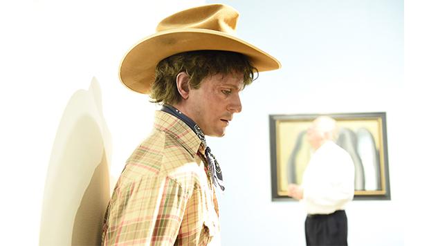 art-basel-roundup daniel-zuchnik---cowboy-with-hay-by-duane-hanson---vernissag