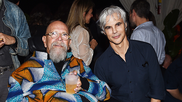 art-basel-roundup nicholas-hunt---chuck-close-tom-delavan-at-white-cube-party-