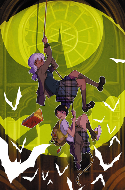 awesomecomicbookcovers gothamacademy-karlkerschl