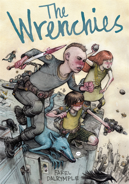 awesomecomicbookcovers wrenchies-fareldalrymple
