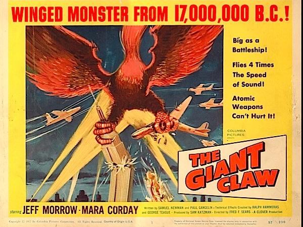 b-movie-posters 1957---the-giant-claw