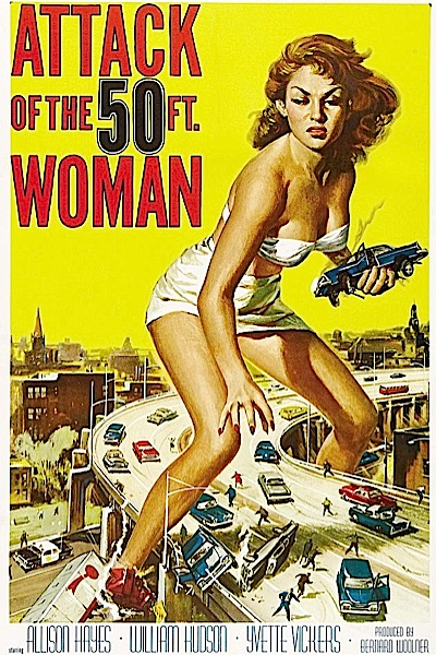 b-movie-posters 1958---attack-of-the-50-foot-woman