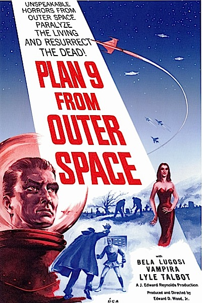 20 great b movie posters design galleries paste for Outer space poster design