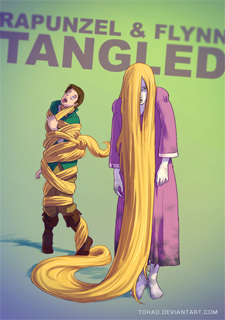 badass-cartoons tangled-by-tohad-d7u9zk4