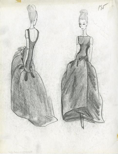 balenciaga- 23-illustration-robe-longue-1963