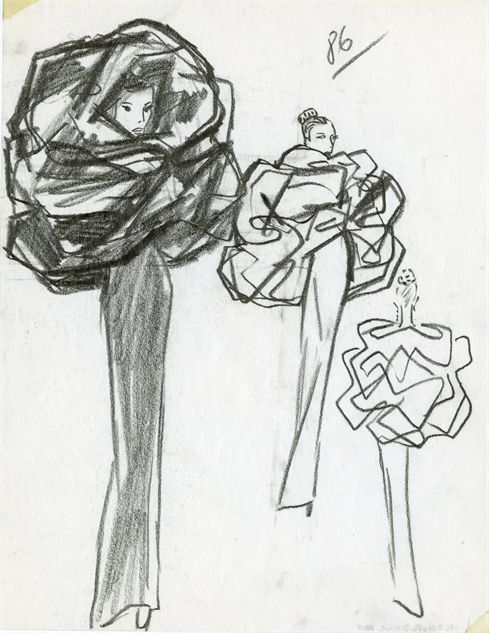 balenciaga- 26-illustration-robe-capuche-1967