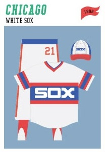 baseball-uniforms chicago-white-sox-1982