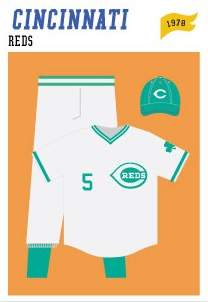 baseball-uniforms cincinnati-reds-1978