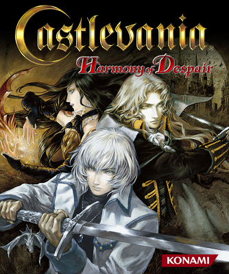 best-castlevania-games 19-harmony-of-despair